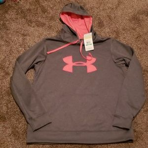 Nwt under armor hoodie size large